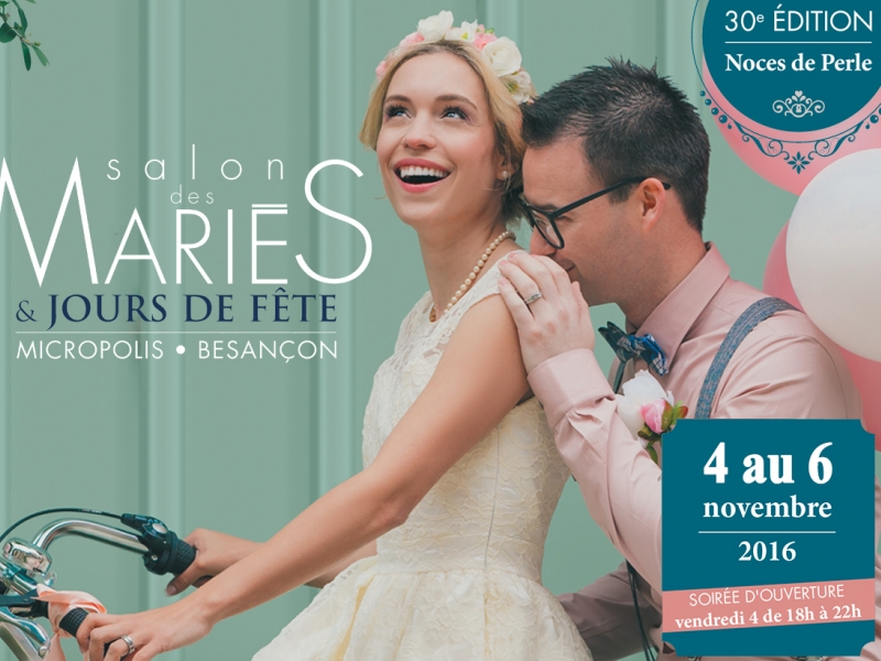 Salon du mariage 2016 de besan on doubs 25 for Salon de the besancon