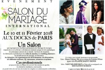 Salon du Mariage International 2018 de Paris