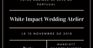 White Impact Wedding Atelier 2018 - Paris