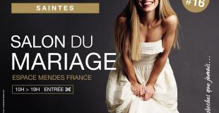 16ème Salon du Mariage Saintes - Edition septembre 2020