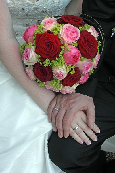 Mariés avec alliances