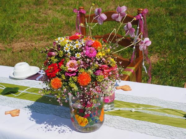 Bouquets mariage champêtre