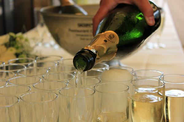 Abuser du champagne