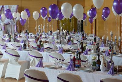 Décoration tables de mariage