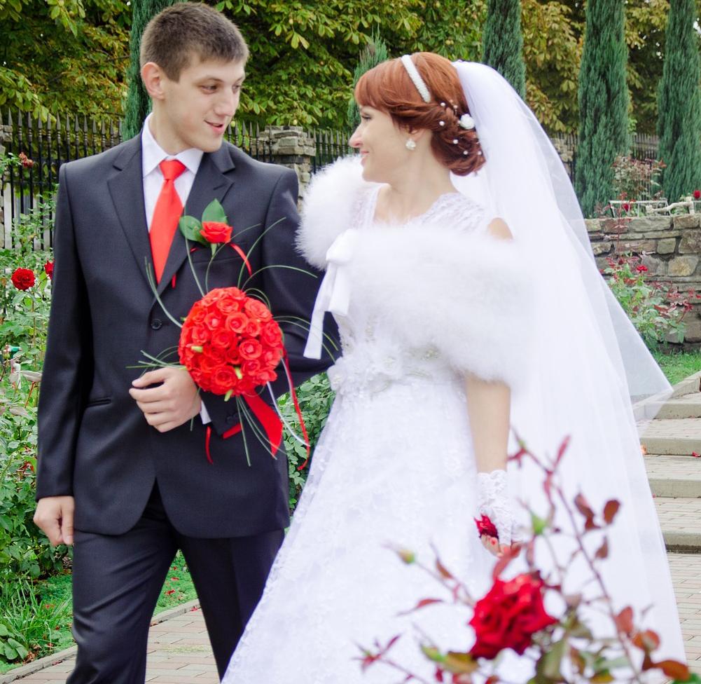 mariage sur le thème rouge passion