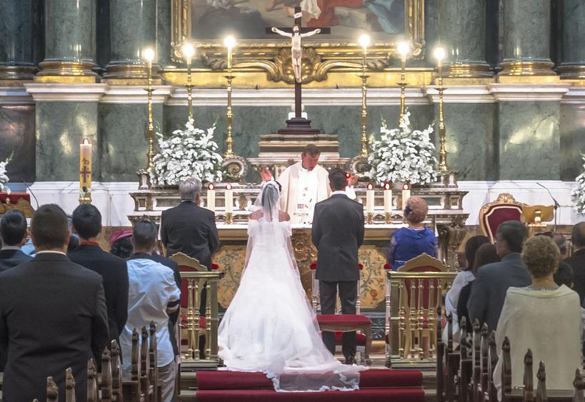 Mariage religieux catholique