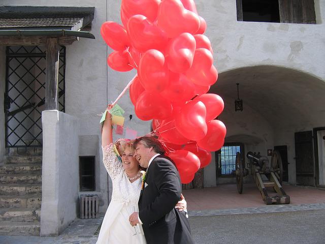 lcher de ballons pour un mariage comment lorganiser soi mme - Lacher De Ballons Mariage