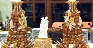 La pièce montée, le gâteau de mariage par excellence !