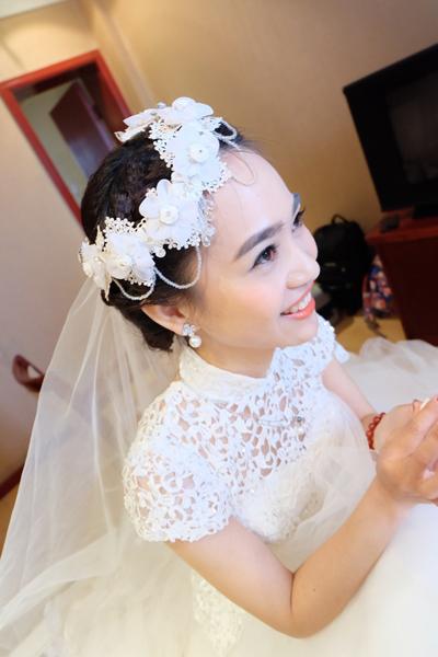 Voile de mariée et headband
