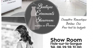 Boutique événements Showroom