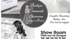 Boutique événements Showroom
