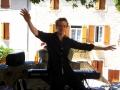 Prestation musicale de pianiste soliste