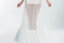 Jupon de mariée avec 2 cerceaux en 190 cm de circonférence