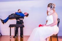 Levitation du marié