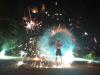 Jongleurs, cracheurs de feu, échassiers, feux d'artifices