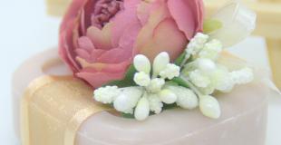 Savon enrichi à l'huile d'argan décoré et personnalisable