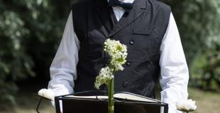 Officiant homme cérémonie laïque
