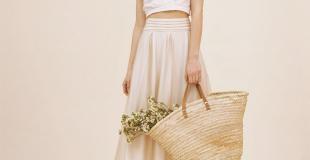 Blouse crop top et jupe de mariée ecoresponsable - Myphilosophy