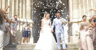 Mariage sortie église Vidéaste
