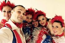 Danseurs de French Cancan