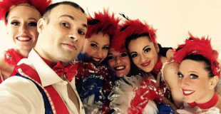 Danseurs de French Cancan
