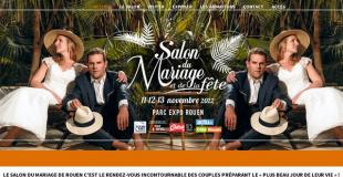 Salon du Mariage et de la Fête 2016 au Parc des Expositions de Rouen