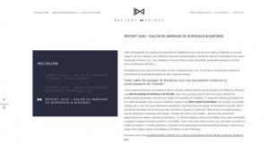 Salon du Mariage de Gironde 2017 à Léognan (33)