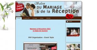 Salon du Mariage et de la Réception 2018 à Le Trepport (56)