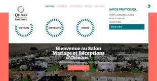 Salon Mariage & Réceptions 2017 au parc expo d'Orléans (45)
