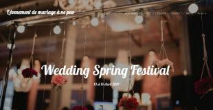 Salon du mariage 2019 de Joué-lès-Tours (37) : Wedding spring festival