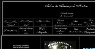 Salon du Mariage 2020 à Menton (06) : Mariage enchanté