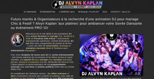 Animation musicale mariage DJ Alvyn K