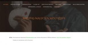 Mathias Magicien Mentalisme