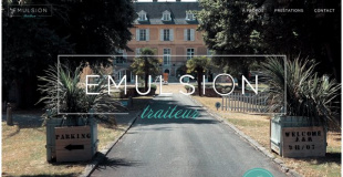 Emulsion traiteur