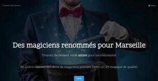 Collectif de magiciens à Marseille