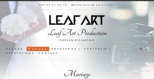 Leaf Art Production