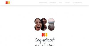 Coquelicot et Cacahuète
